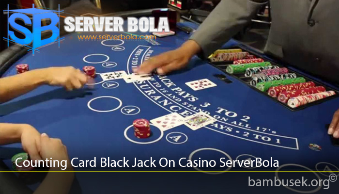 Counting Card Black Jack On Casino ServerBola